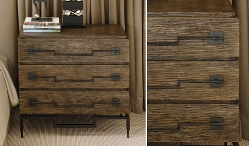Rustic 3 Drawer Dresser