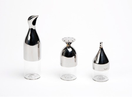 Salt, Pepper, & Sugar Flasks
