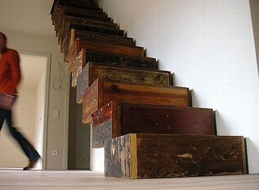Salvaged Staircase
