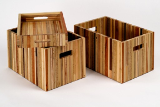 Scrapile crate and tray