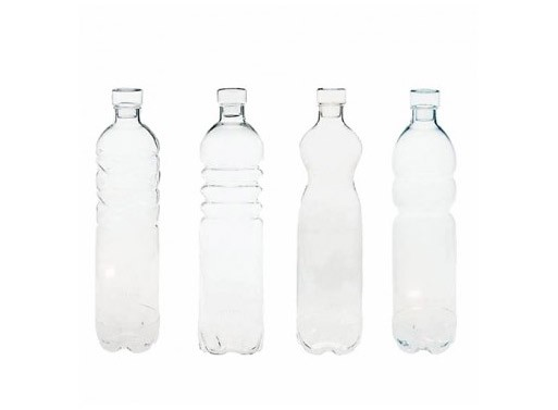 Si-Bottles and Lids, Set of 4
