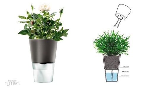 Self-Watering Flowerpot, Eva Solo