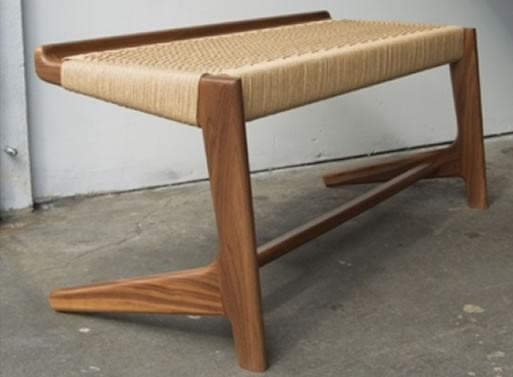 Semigood Design Rian Cantilever Bench