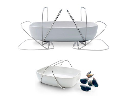 Serving Dish with Dual Handles