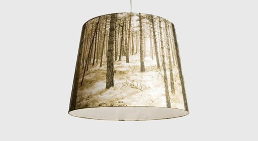 Nicolette Brunklaus Shady Tree Outside Lamp Shade