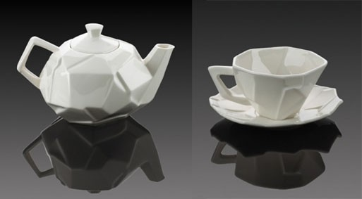 Shattered Teapot & Tea Cup