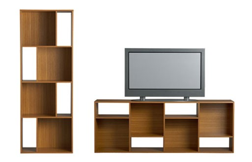 Shift Media Console/Bookcase