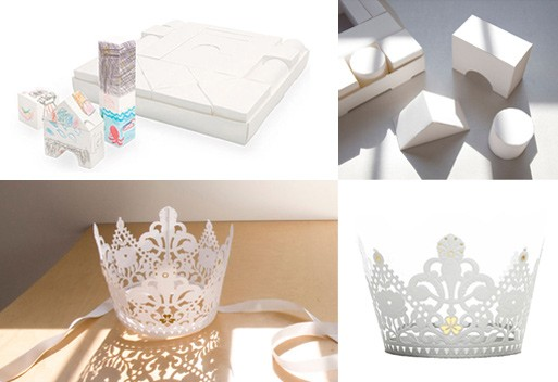 Shirara's Paper Blocks & Tiara