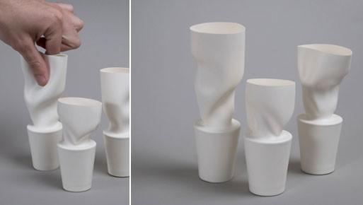 Skin Series Bud Vases