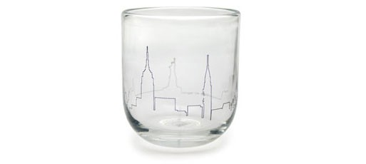New York City Skyline Tumbler by Nicci Green, 2007