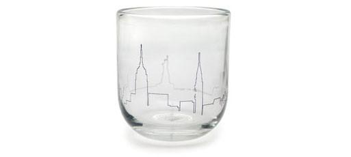 New York City Skyline Tumbler by Nicci Green, 2007