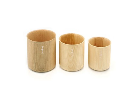 Snow Peak Wooden Stacking Mug Set