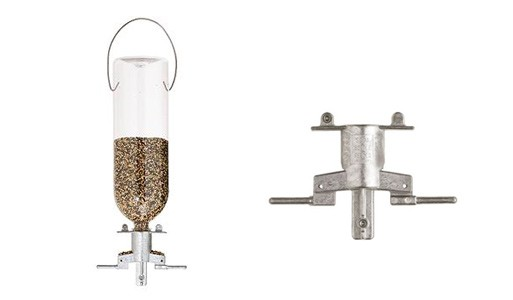 Audubon Soda Bottle Bird Feeder