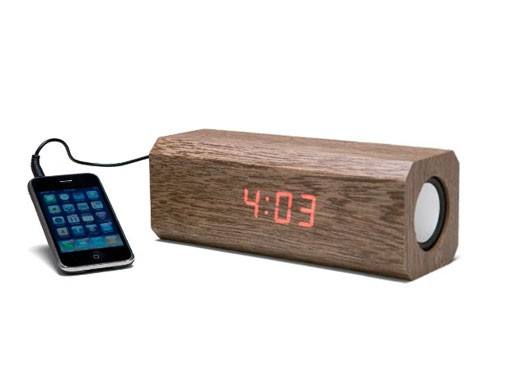Sonic Woodblock Clock