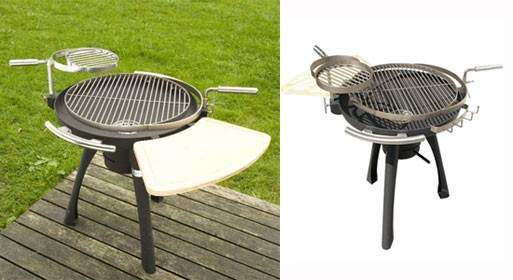 Direct Designs' Space Grill