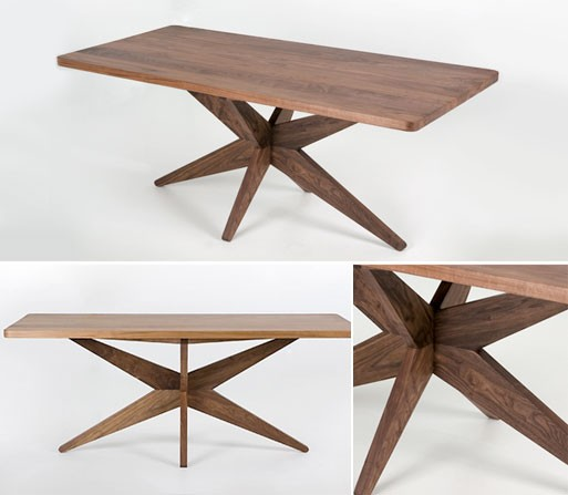 Starfish Table, Walnut
