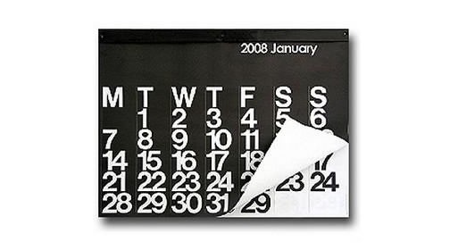 Stendig 2008 Calendar by Vignelli