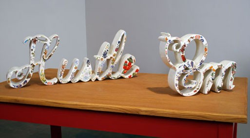 Stephanie DeArmond Ceramic Letter Pieces