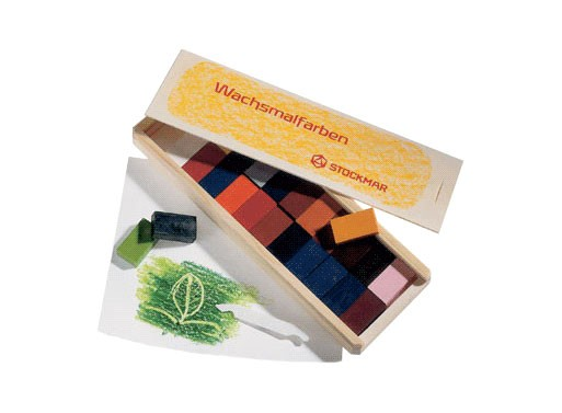 Stockmar Beeswax Block Crayons