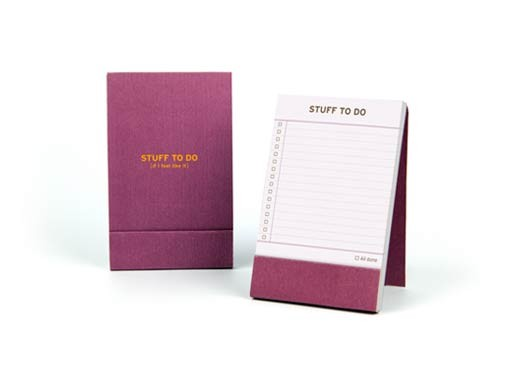 Stuff To Do and Great Ideas Notebooks