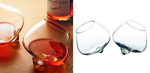 Swivel Liqueur Glasses