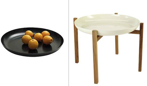 Tablo Tray and Teak Stand