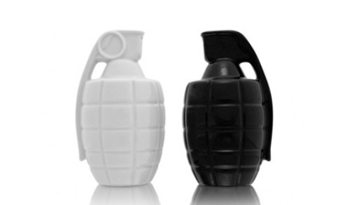 Taste Explosion Salt & Pepper Shakers By Thabto