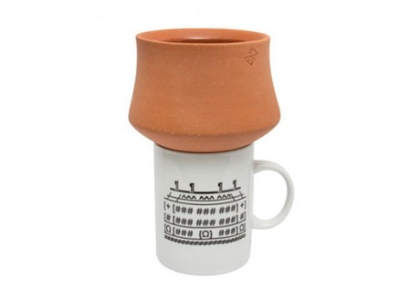 Terracotta Funnel by Grain