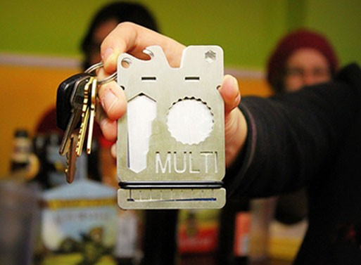 The MULTI Tool/Wallet