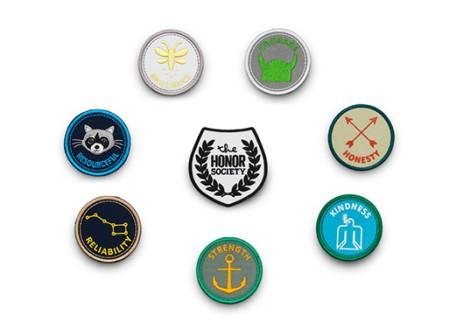 The Honor Society Merit Badges