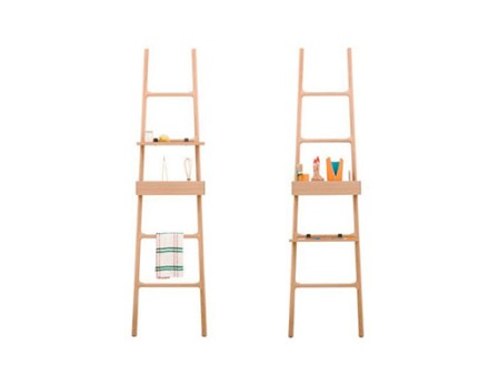 Tilt Oak Ladder