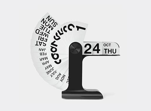 Timor Calendar by Enzo Mari