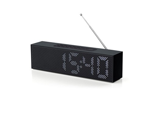 An Led Clock Radio