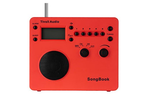 SongBook radio (red)