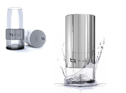 TK:ARO Glass Water Bottle