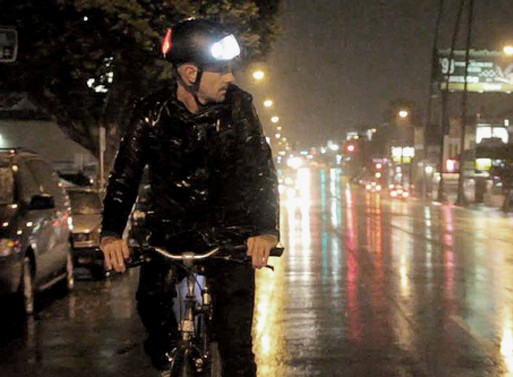Torch T1 Illuminated Bicycle Helmet