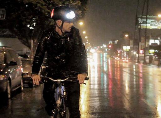 Torch T1 Illuminated Bicycle Helmet