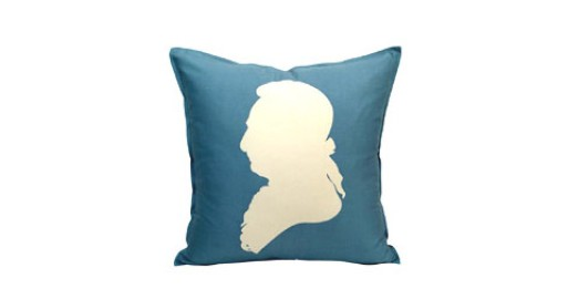 silhouettes luxe silk & wool pillow
