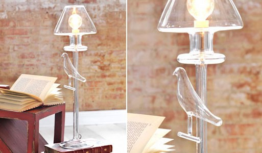 Translucent Bird Lamp