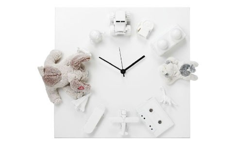 Limited Edition White Treasure Clock