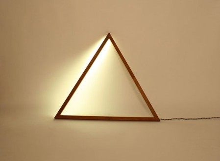 Triangle and Line Light by Fort Makers