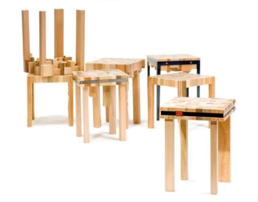 """Studio Ubico, """"stump"""" series"""