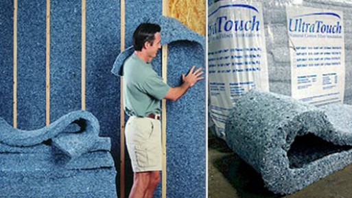 UltraTouch Recycled Cotton Insulation