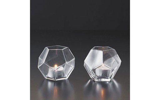 Panton Dodecahedron Candleholder – Set/2