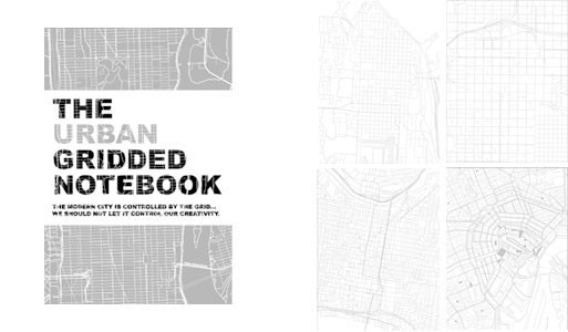 The URBAN Gridded Notebook by John Briscella