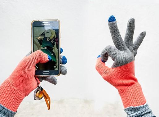 Verloop Colorblock Touchscreen Gloves