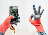 Verloop Colorblock Touchscreen Gloves