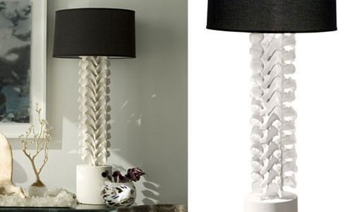Vertebrae Lamp by Amaridian