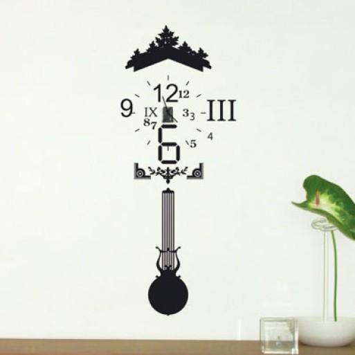 Vinyl + Clock