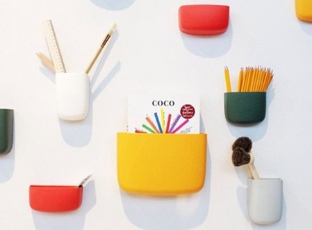 Pocket Wall Organizer by Normann Copenhagen